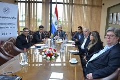 Working Group meeting on the Declaration together with Member of Parliament Mr Edwin Reimer.